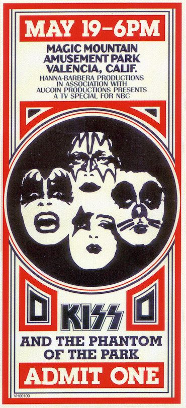 1970s KISS on tour | The Alive II tour-book and the tour-book for the Japanese shows of the ...