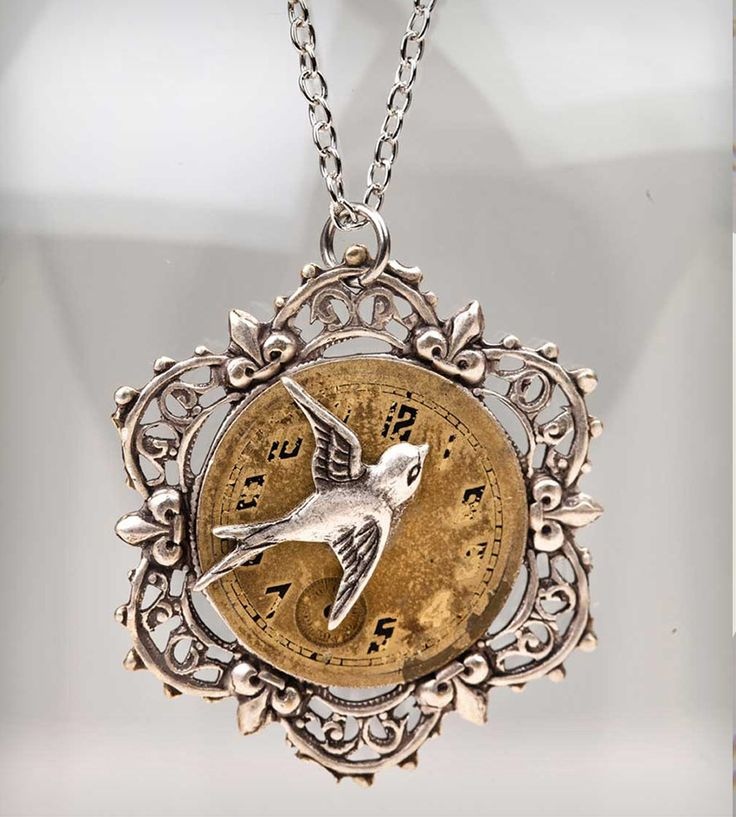 Time Flies Necklace