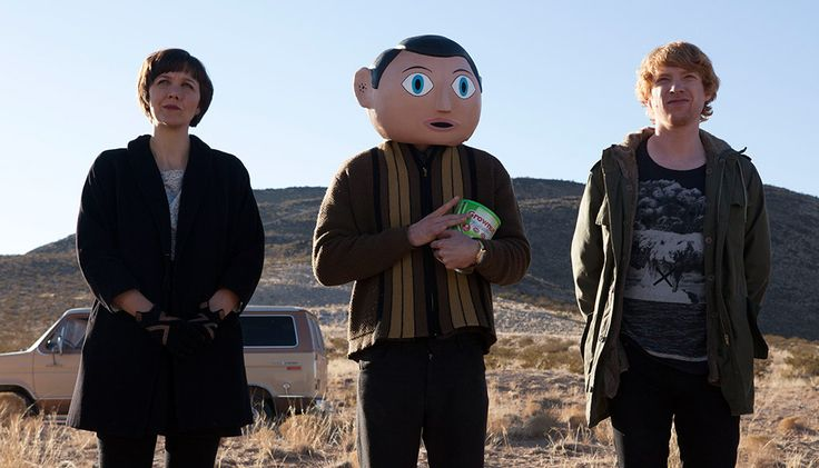 Frank | Movie Review Michael Fassbender shines in Lenny Abrahamson's comedy about music and mental illness  Read more at http://www.gotchamovies.com/movie-review/frank-movie-review-181173#u2HT9CW1FXQtwtEK.99