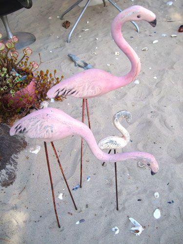 Vintage Pink Flamingos 27