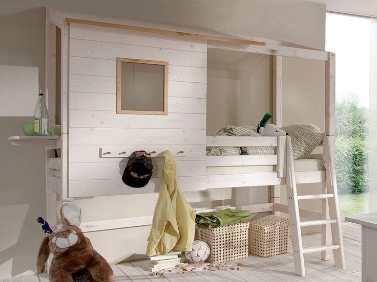 die besten 17 ideen zu halbhohes hochbett auf pinterest halbhohes kinderbett spielbett und. Black Bedroom Furniture Sets. Home Design Ideas