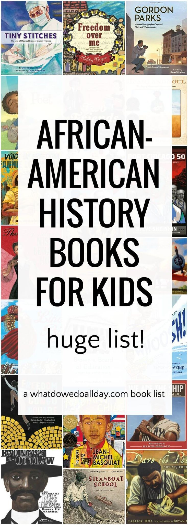 Incorporate diversity into your lessons with these African-American History books for kids! #JoynerLibrary #TRC #BlackHistory
