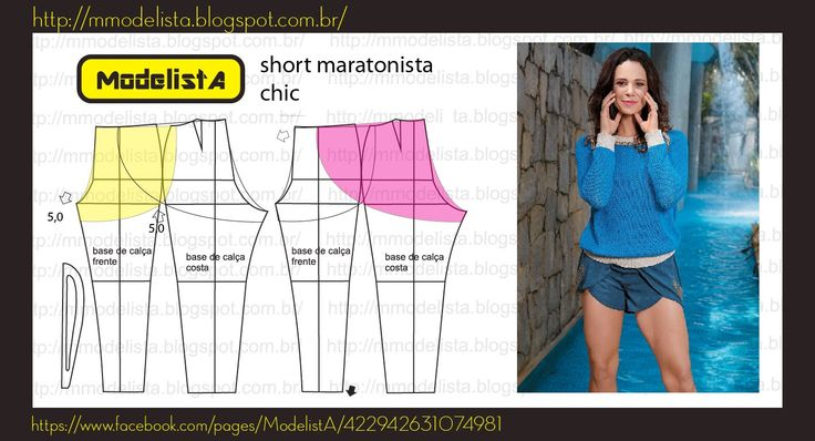 ModelistA: SHORT CORREDOR Running Shorts or Petal shorts