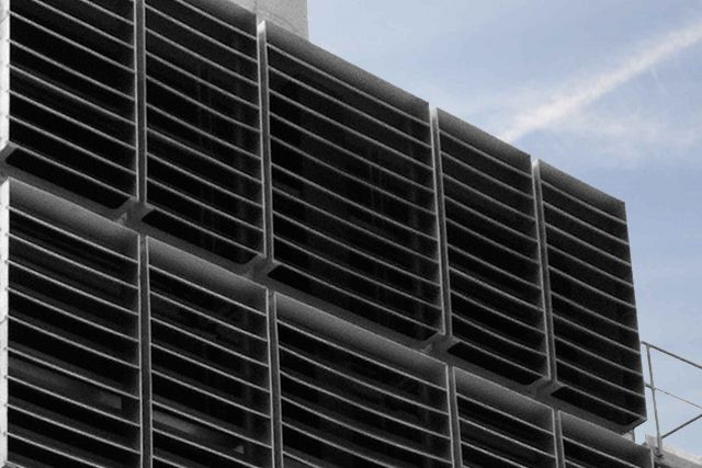 Weather Louvres protecting turbine engines