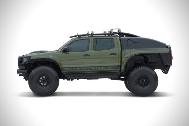 Toyota Tacoma Polar Expedition  EBAY- Truck 1 Used Ended: Mar 07, 2014 10:26:13 PST Winning bid:US $72,300.00 [ 36 bids ] Shipping: Will ship to United States. Read item description or for shipping options.