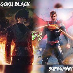 Battle: Goku Black Vs Superman Prep: none Location: Future timeline Earth Morals: off Bloodlust: on Gear: standard Notes: none #ogbattles #dragonballz #dccomics #marvel #batman #spiderman #superman #dragonballsuper #fight #battle #goku #vegeta #hulk #comics #manga #anime