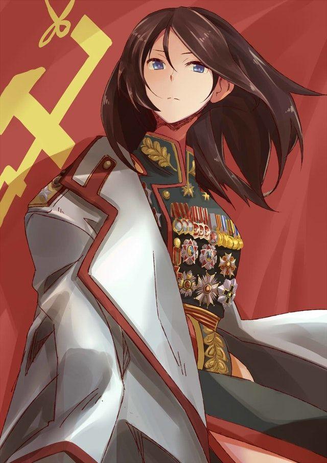 Marshal Of Pravda Girls High School Girlsundpanzer