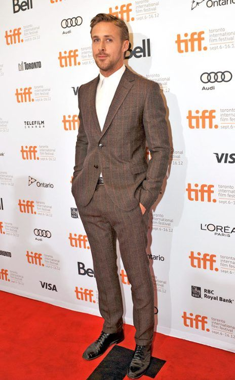 Black dress shoes with brown suit - All Pictures top