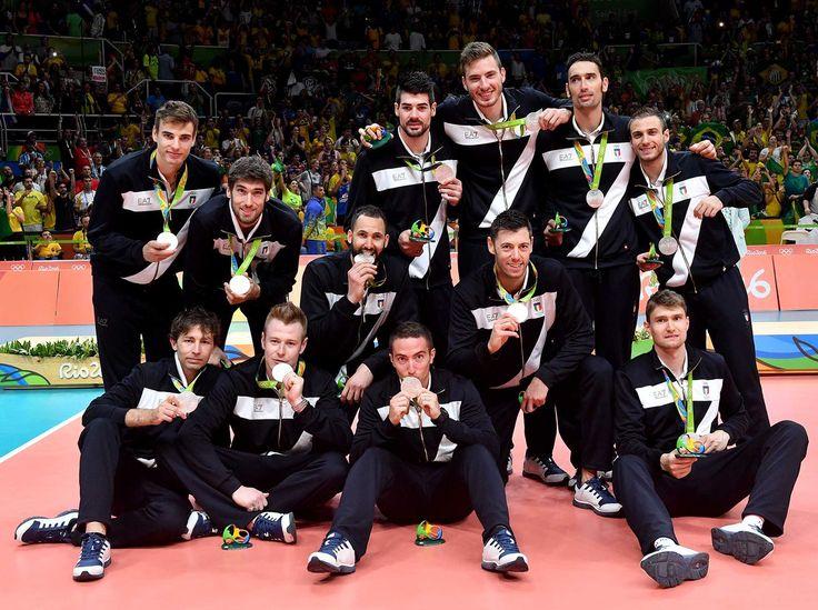 Italvolley d'argento, olimpiadi Rio 2016