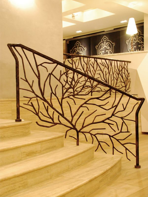 Iron Work that can make a room feel like a place to retreat.