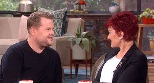 """James Corden on Hosting """"The Late Late Show"""" guest on The Talk 3-16-15"""