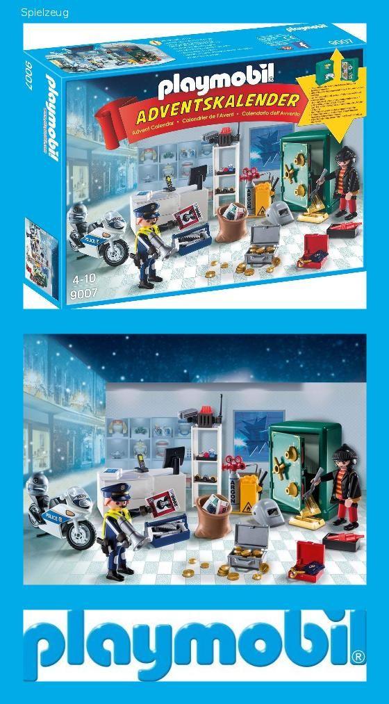 Weihnachtskalender Orion.Playmobil 9007 Adventskalender Polizeieinsatz Im Juweliergeschäft