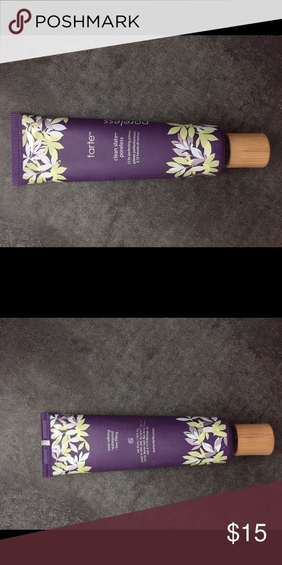 TARTE primer Used twice , really good primer . Still a lot of product left tarte Makeup Face Primer