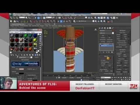 #21. Flig vs Shaman: Animations and modeling in 3ds max #twitch #indie #indiedev #gamedev #aoflig #fligadventures #adventuresofflig #flig