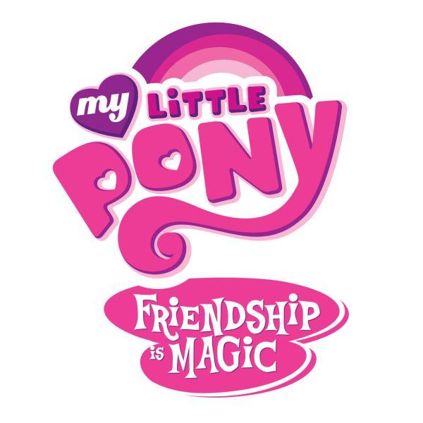 My Little Pony Friendship Is Magic Logo fonts