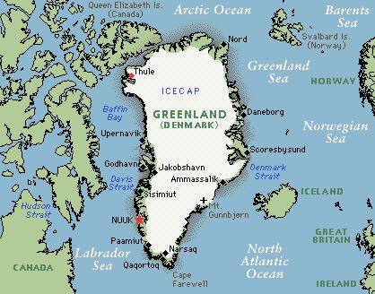 The 25 best Greenland map ideas on Pinterest