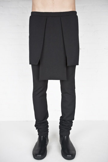 RAD by Rad Hourani 3 panel leggings... can this be DIY?  It'll be a bit less clean looking, if it's by my hand... but mangled is beautiful too :)