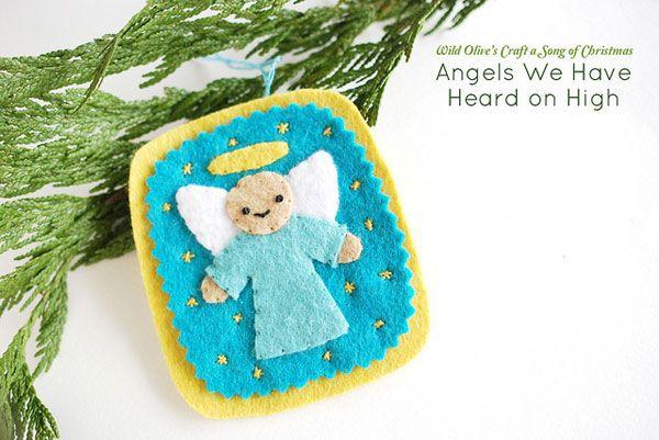 Angeli in feltro n.15