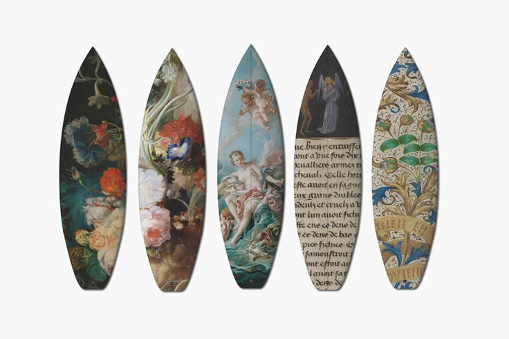 Boom-Art'dan Rönesans Etkili Sörf Tahtaları
