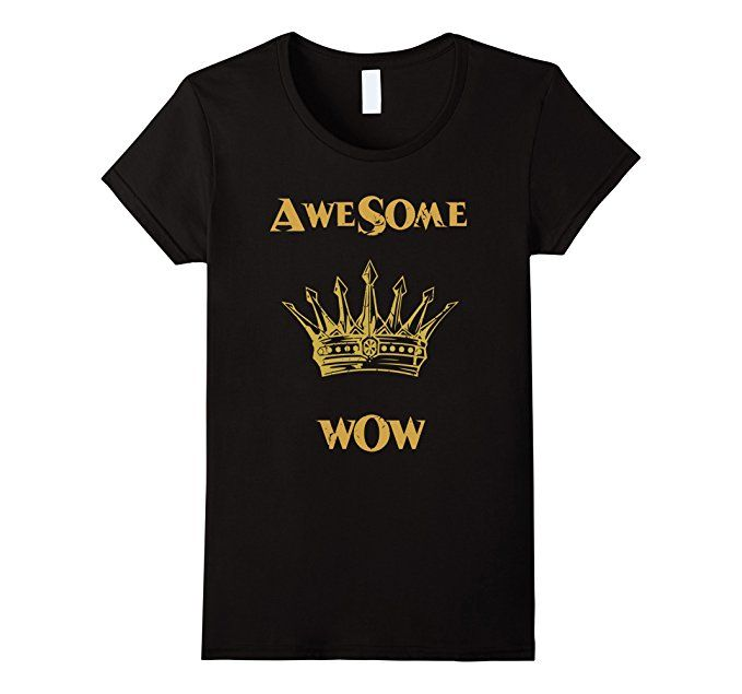 King George Awesome Wow Shirt - $24 - Hamilton Gift Ideas http://amzn.to/2fTP7Bb