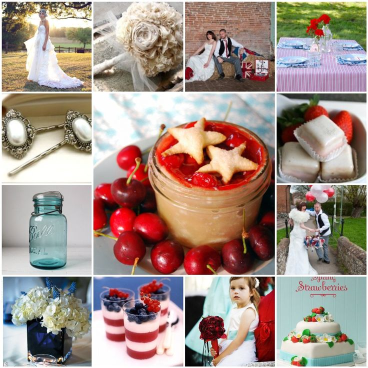 Red White And Blue Wedding | Red, white and blue weddings | Philadelphia Wedding - Wedding venues ...