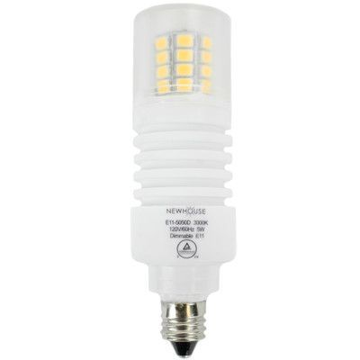 Newhouse Lighting LED Light Bulb Wattage: 5W