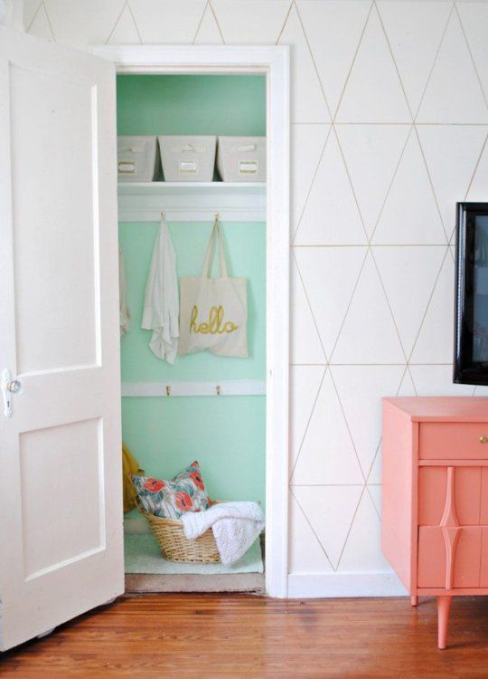 9 Places to Add #Color Where You Least Expect It /// Apartment Therapy