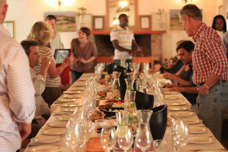 2014 Rurale Launch at Vondeling - The food and the Wine Tasting