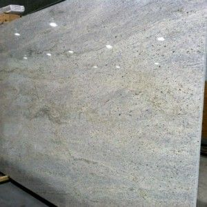 kashmir white granite - grays and tans in