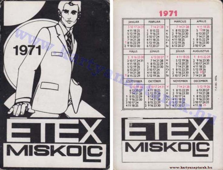 1971 - 1971_0570 - Régi magyar kártyanaptárak