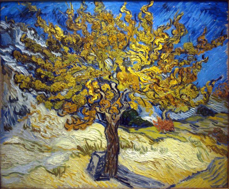 """L'albero di gelso"" 1889  Dimension: 54 x 65 cm  The Norton Simon Museum of Art, California"