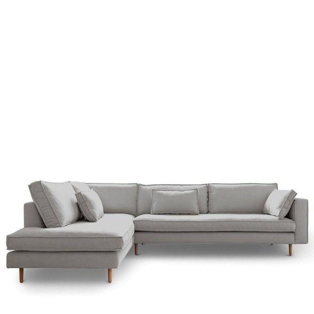 Угловой диван левый ткань Стокгольм DRAWER