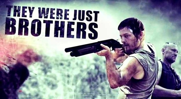 """If Merle or Daryl says, """"He's my brother!"""" at any point, then drink to that. 
