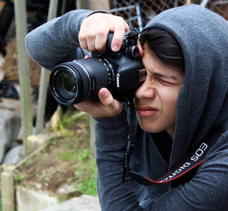 Yo fotografiando, retrato.
