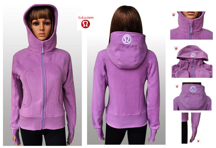 Beautiful Lululemon Black Friday Sale Yoga Scuba Hoodies Pink Lilac Online