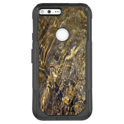 #photo - #Abstract Rippling Golden Fountain Water OtterBox Commuter Google Pixel XL Case