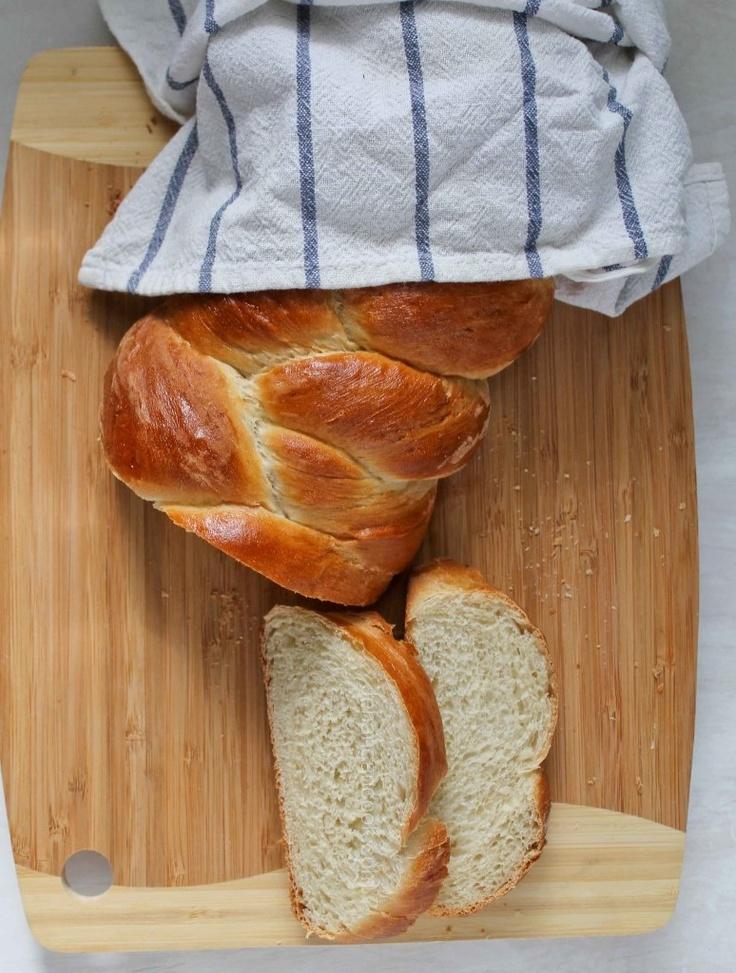 Guyanese Plait Bread.