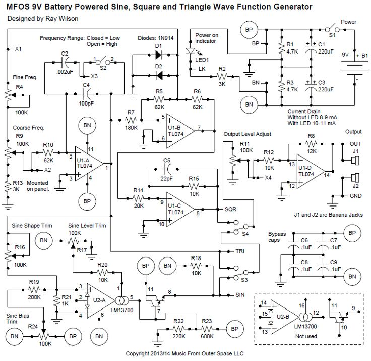 REVISED battery function generator nov 2013