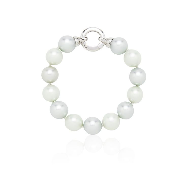 Pastel Blue and Green Pearl Bracelet – Kate McCoy