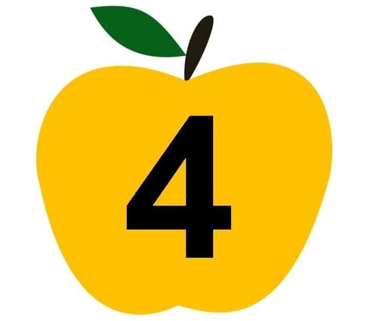apple-number-cards-4.jpg (Imagen JPEG, 720 × 625 píxeles ...