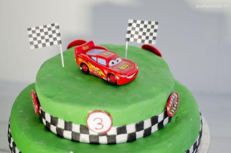 Verjaardagstaart Cars 1
