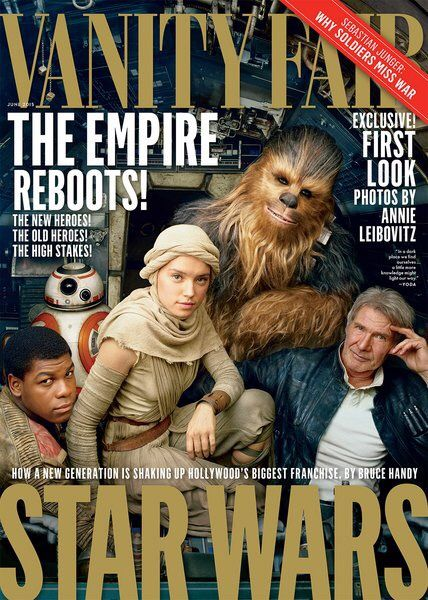 Star Wars: The Forces Awakens' Cast Lands Vanity Fair Cover
