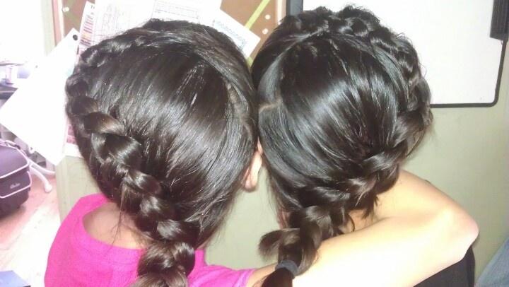 Heart hair ...braid