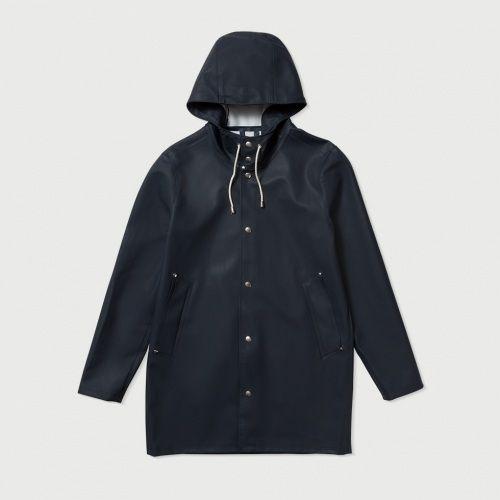 Stockholm Navy Raincoat – Stutterheim Raincoats