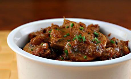 Mushroom Bhaji from The Perfect Pantry