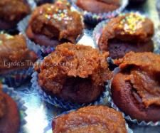 Recipe Chocolate beetroot cupcakes gluten free dairy free nut free refined sugar free by Lyndathermomix - Recipe of category Baking - sweet
