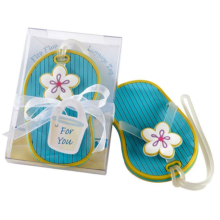 Flip Flop Luggage Tag Favor 1 95 Each Great For Summer