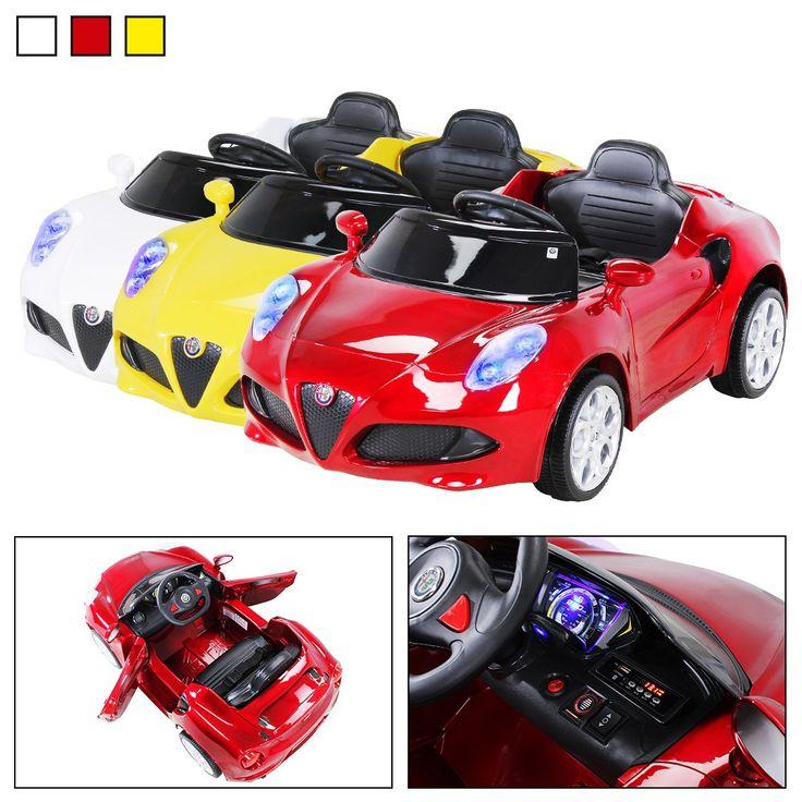 Der Spielzeugtester hat das Kinder Elektroauto ALFA ROMEO 4c Lizenziert Original Kinderelektroauto Kinderfahrzeug Auto (Weinrot) angeschaut und empfiehlt es hier im Shop. Ich versuche alle Produkte immer selbst zu testen. Aufgrund der Vielzahl der Artikel kann ich das leider nicht alles selber… – Spielzeugtester