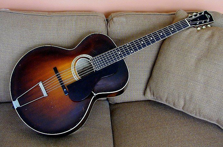 1929 Gibson L-4 oval hole | Archtop Guitars | Pinterest
