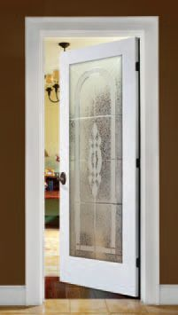Office bathroom bedroom..anywhere. This Cameron etched glass door offers beauty & 22 best Decorative Glass Doors by ABS images on Pinterest ... pezcame.com